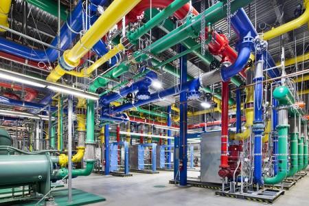 Inside a Google data center