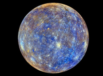 The clearest picture of Mercury that exists