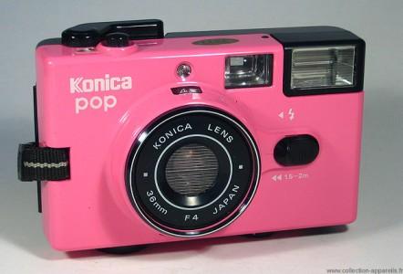 Konica Pop Pink-30 Super Cool Vintage Cameras would Make You Regret Not Being Born Earlier -17