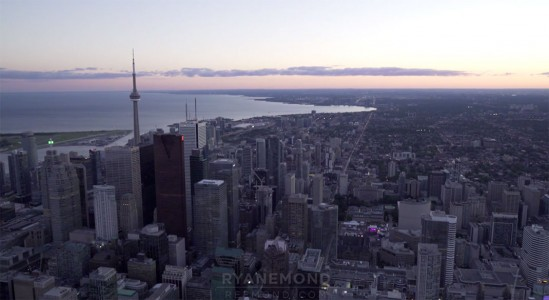 Discover The Sublime Skyline And Skyscrapers Of Toronto From Air-