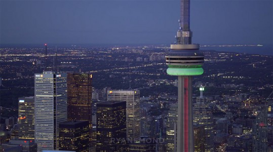 Discover The Sublime Skyline And Skyscrapers Of Toronto From Air-22