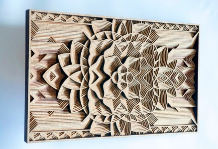 Discover Wooden Art Works Of Astonishing Precision Made Using Laser-