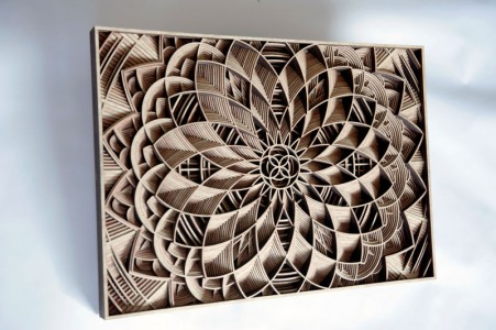 Discover Wooden Art Works Of Astonishing Precision Made Using Laser-1