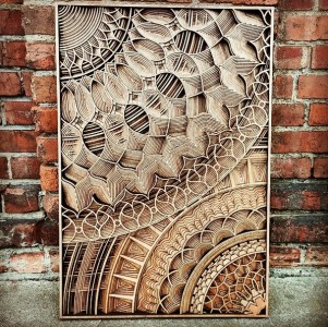 Discover Wooden Art Works Of Astonishing Precision Made Using Laser-7