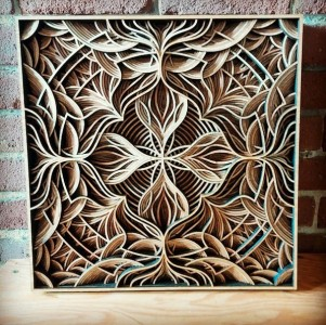 Discover Wooden Art Works Of Astonishing Precision Made Using Laser-9