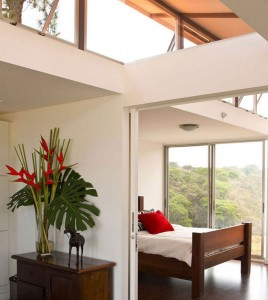Also located in Costa Rica, this home was built with two containers by architect Benjamin Garcia Saxe