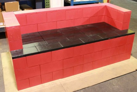 Use These Giant LEGO Bricks To Build Human Size Furniture And Erect Buildings-