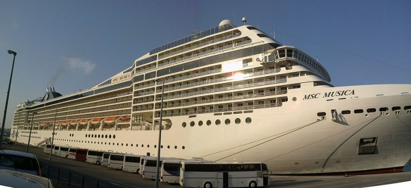 MSC Musica, MSC Orchestra, MSC Poesia and MSC Magnifica