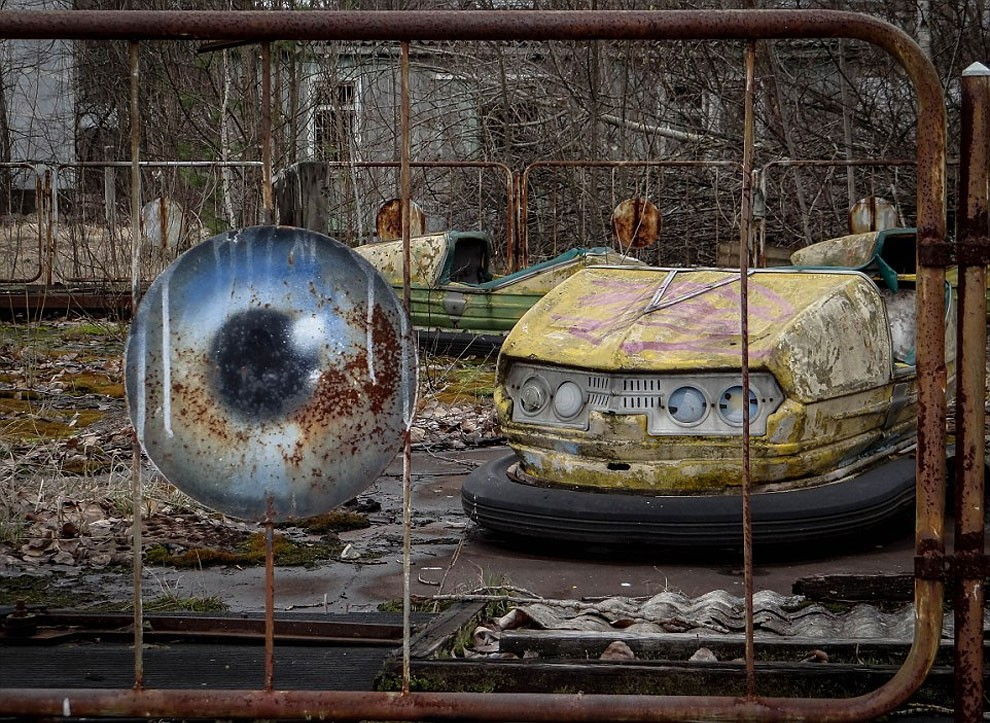 Enter The Scary Ruins Of Pripyat, Ghost Town 3 kilometers From Chernobyl-8