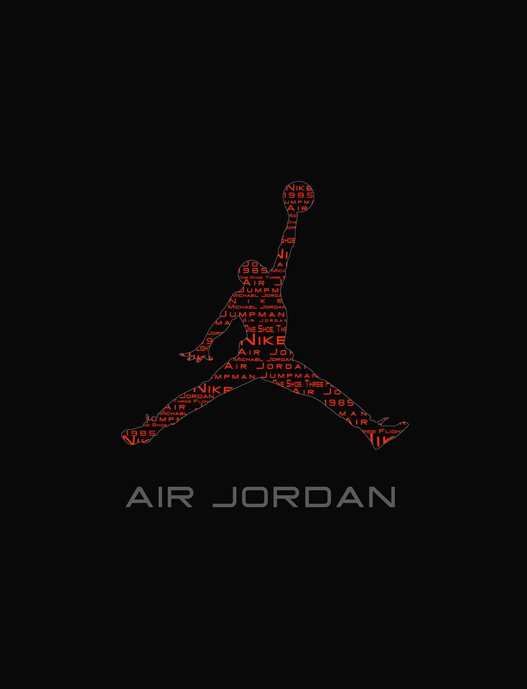new product 4937b 324db Jordan Logo Wallpaper