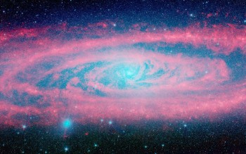 HD Galaxy Wallpaper shows beauty of space-37