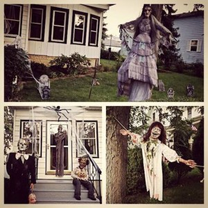 These Halloween Decorations Convert Homes Into Real Horror Meuseums-23