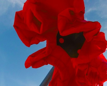 Warde: These Gigantic Streetlights Shaped As Flowers Bloom When Someone Passes Nearby-2