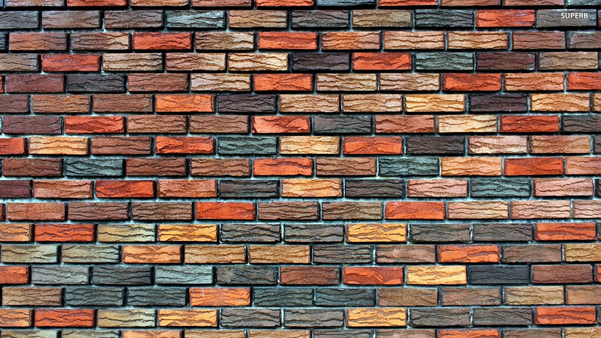40 hd brick wallpapers backgrounds for free download for Cool brick wall designs