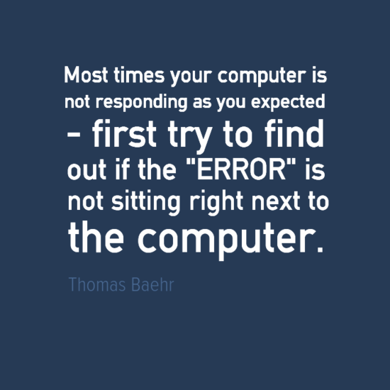 Engineering Quotes Thomas Baehr