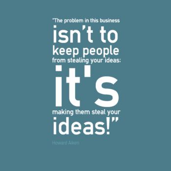 Engineering quotes horward Aiken