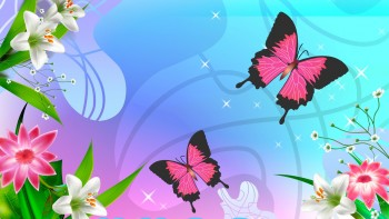 Pink wallpaper as background 35