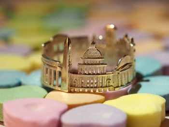 Rings made as the architectures of famous cities--4