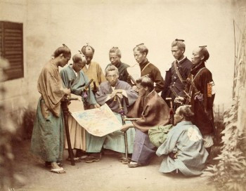 Very Rare Color Photographs Of Samurais Resurface-1