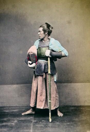 Very Rare Color Photographs Of Samurais Resurface-6