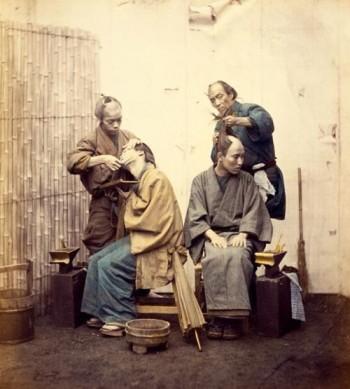 Very Rare Color Photographs Of Samurais Resurface-8