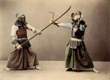 Very Rare Color Photographs Of Samurais Resurface-9