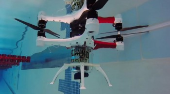 Amazing Drone That Can Fly, Float and Dive Underwater To Make Sea Rescue Missions--2