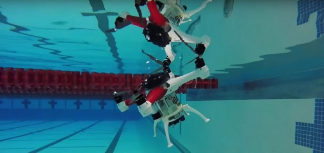Amazing Drone That Can Fly, Float and Dive Underwater To Make Sea Rescue Missions--5