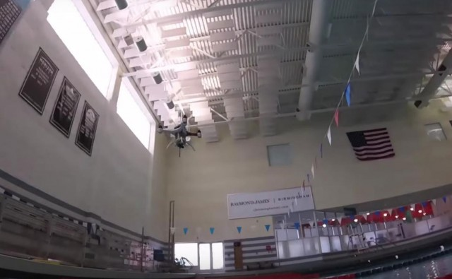 Amazing Drone That Can Fly, Float and Dive Underwater To Make Sea Rescue Missions-