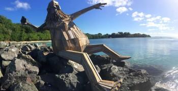 Gigantic Wooden Sculptures Made Using Simple Wood Debris--3