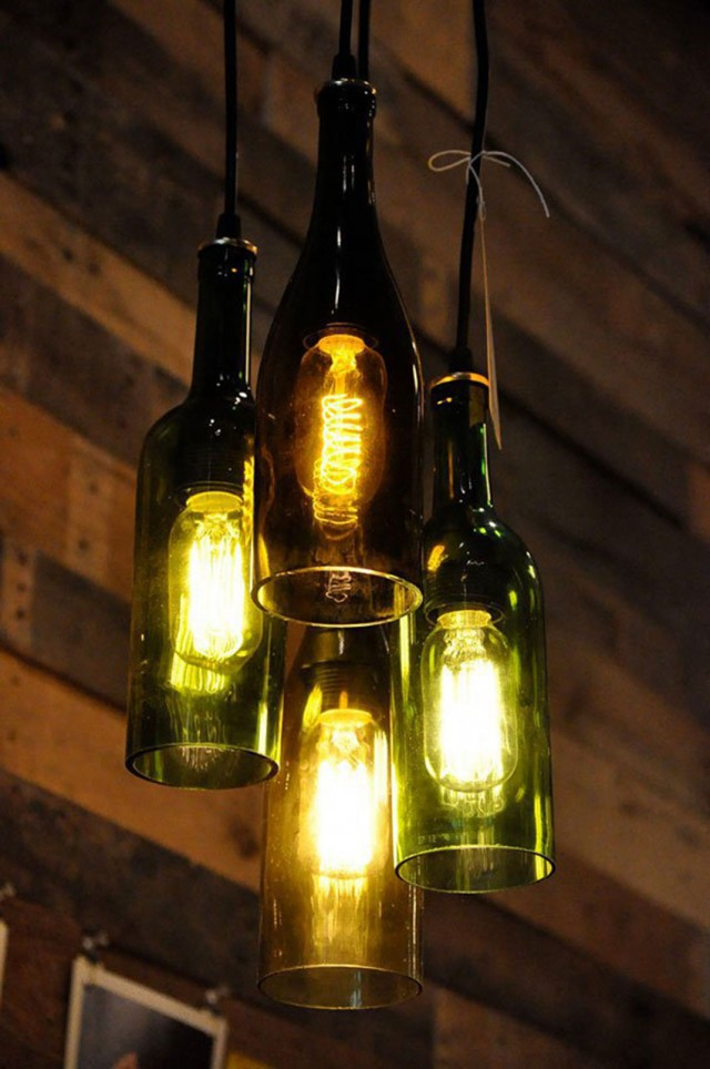 29 Ideas To Help You Recycle Your Glass Bottles Cleverly--11