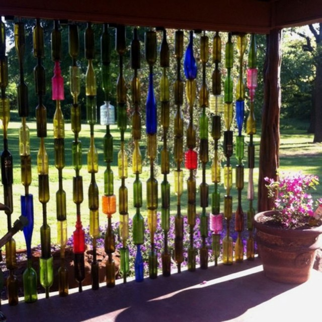 29 Ideas To Help You Recycle Your Glass Bottles Cleverly--21