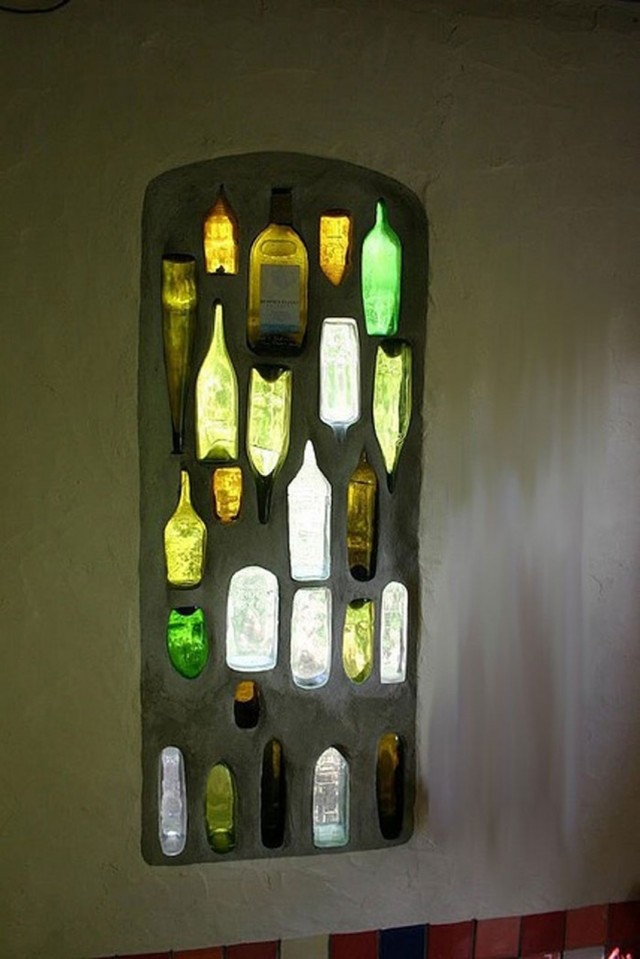 29 Ideas To Help You Recycle Your Glass Bottles Cleverly--4