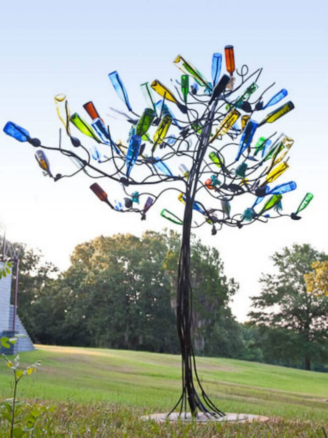 29 Ideas To Help You Recycle Your Glass Bottles Cleverly--5