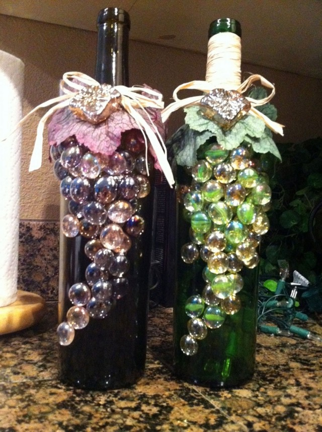 29 Ideas To Help You Recycle Your Glass Bottles Cleverly--8