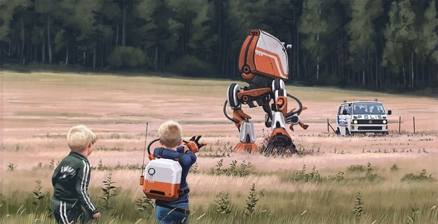 37 Illustrations That Indicate How Technology Degrades The Purity Of Landscape--35