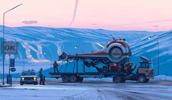 37 Illustrations That Indicate How Technology Degrades The Purity Of Landscape-