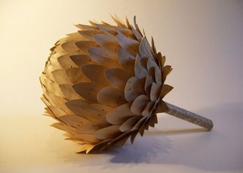 Cecilia Gives A New Life To Pages By Transforming Them Into Delicate Everyday Objects--15