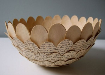 Cecilia Gives A New Life To Pages By Transforming Them Into Delicate Everyday Objects--5