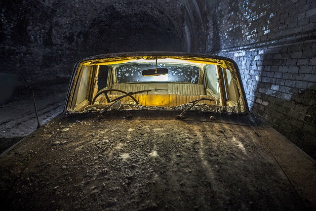 Explore The Mysterious Cemetery Of Abandoned Cars In The Depths Of Liverpool--1