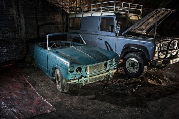 Explore The Mysterious Cemetery Of Abandoned Cars In The Depths Of Liverpool--2