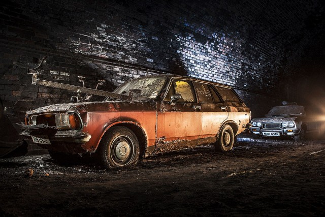 Explore The Mysterious Cemetery Of Abandoned Cars In The Depths Of Liverpool--3