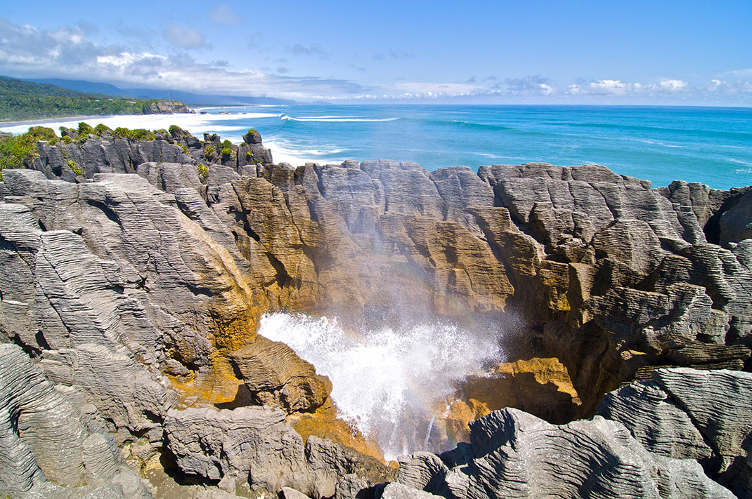Pancake Rocks-The Amazing Rocky Structures Sculpted By Ocean Waves--18