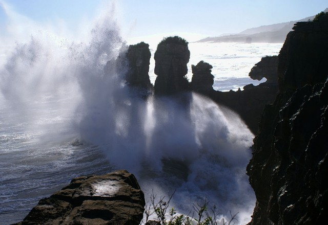 Pancake Rocks-The Amazing Rocky Structures Sculpted By Ocean Waves--3
