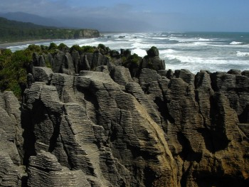 Pancake Rocks-The Amazing Rocky Structures Sculpted By Ocean Waves--4