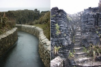Pancake Rocks-The Amazing Rocky Structures Sculpted By Ocean Waves--5