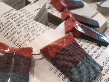 Jeremy Gives New Life To Old Book Pages Turning Them Into Delicate Jewelry--10