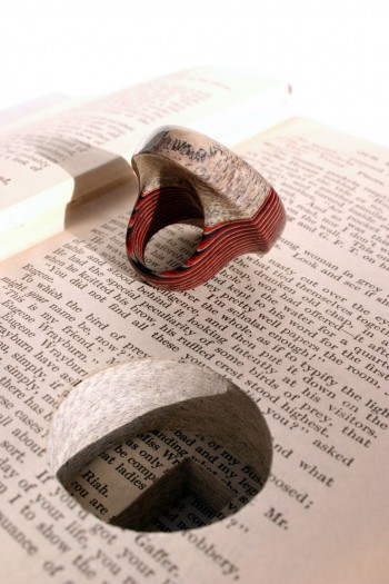 Jeremy Gives New Life To Old Book Pages Turning Them Into Delicate Jewelry--13