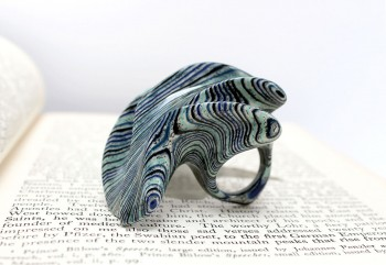 Jeremy Gives New Life To Old Book Pages Turning Them Into Delicate Jewelry--14