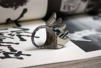 Jeremy Gives New Life To Old Book Pages Turning Them Into Delicate Jewelry--2